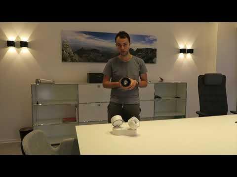Clippo Aufbaustrahler und Einbaustrahler DLS Light / Egger Licht