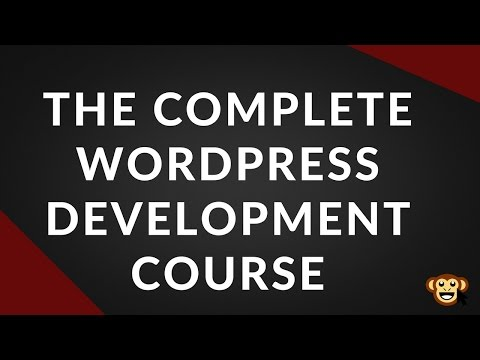 The Complete WordPress Development Course Preview - The First ...