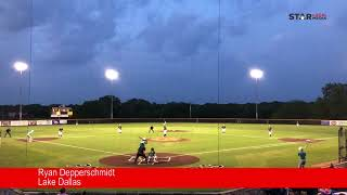 Reedy vs. Lake Dallas Baseball Highlights