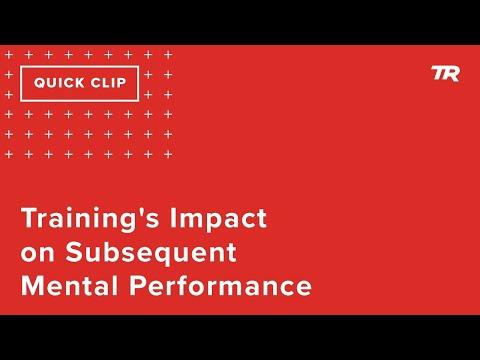 Training's Impact on Mental Performance