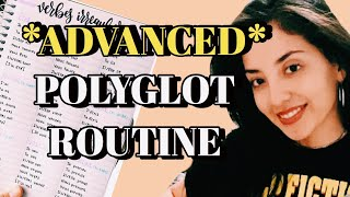 ADVANCED POLYGLOT ROUTINE - HOW I LEARN VOCABULARY FAST - 100 WORDS IN 4 MINUTES **NOT CLICKBAIT**