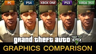 GTA V Mega Graphics Comparison Video: PC / PS4 / Xbox One / PS3 / Xbox 360