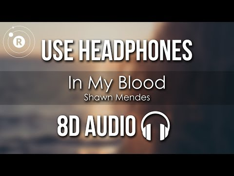 Shawn Mendes - In My Blood (8D AUDIO)
