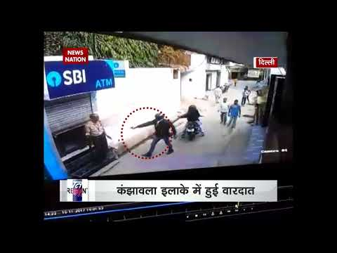 Delhi: ATM security guard foils two robbers attempt to loot, incident caught on CCTV