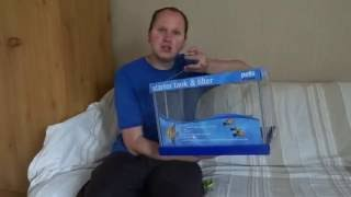 First Impression Of The Pets At Home 24 Litre Starter Fish Tank & Pump Kit