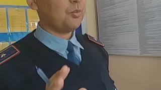Туркестан. Полиця қызметкелерінің заңсыз іс əрекеті.