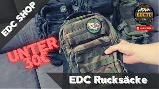 Brandit Rucksack | 2 EDC Rucksäcke für unter 30€ | EDC GEAR Slingbag | edctestonline