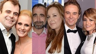 Coronation Street ... and their real life partners