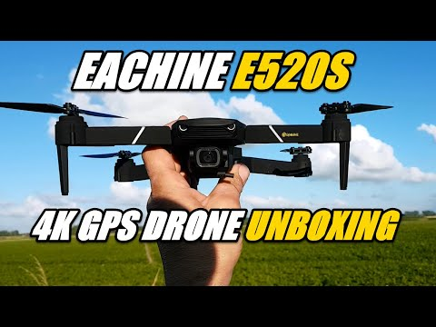 Eachine E520S 4K GPS Drone Unboxing and First Flight Testing RTH Return To Home