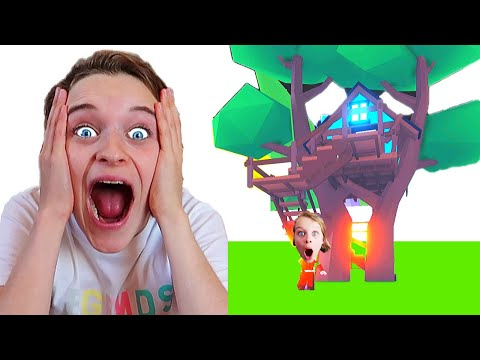 BEST TREE HOUSE WINS in Adopt Me Roblox Gaming w/ The Norris Nuts