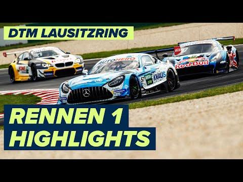 DTM ラウジッツリンク(ドイツ) RENNEN1のハイライト動画