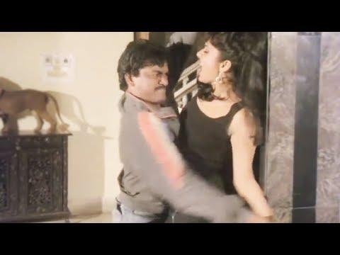 Girl tries to save herself - Hindi Movie Scene 19/20 | Shakti Kapoor | Anuradha Patel | Gentleman