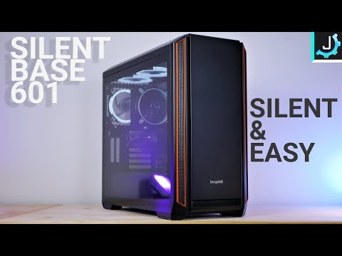 Easiest PC Case To Build In! – Silent Base 601 Review