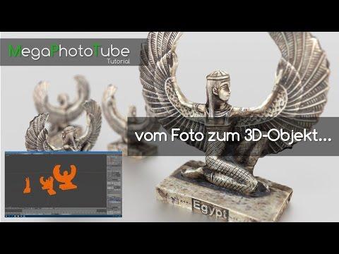 vom Foto zum 3D-Objekt / Photogrammetrie FREEWARE / German Tutorial