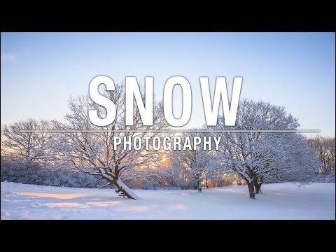 How to take pictures in the snow