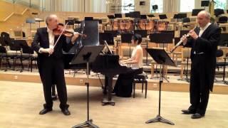 """Vivo por ella (""""Vivo per lei"""" - Andrea Bocelli) - Violín, oboe y piano"""