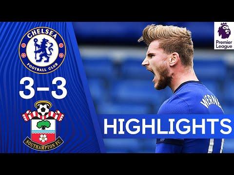 Chelsea 3-3 Southampton | Werner Scores A Brace At The Bridge! | Premier League Highlights