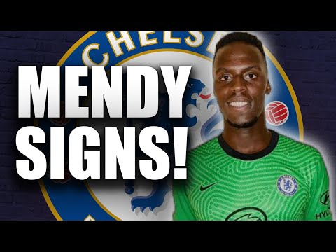 BREAKING: Edouard Mendy Signs for Chelsea on Five-Year Deal!