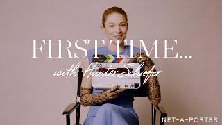 First Time with Hunter Schafer | NET-A-PORTER