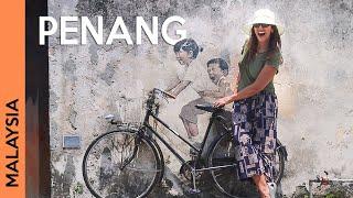 MALAYSIA, PENANG: George Town tour + street art | Vlog 1