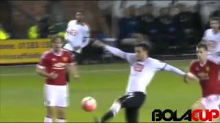 Cuplikan Gol FA Cup  Derby County 1  3 Manchester United