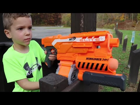 Nerf War:  Playground Warfare