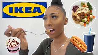 I Only Ate IKEA FOODS for 24 HOURS (a hot mess..)
