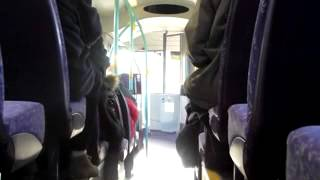 preview picture of video 'SiC 21273 DK09GYH on 32 to Chester City Centre 20130130'