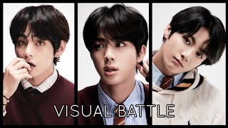 BTS VISUAL RANKING (MOST VOTED IN KOREA)