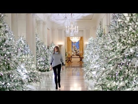 Compare Melania Trump to Michelle Obama's White House Christmas decor