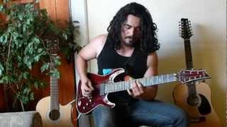 Dream Theater-The Dark Eternal Night- Full Guitar Cover-Hugo Hermosilla