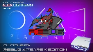 ВЫШЛА REBUG 4.75.1 REX для PS3