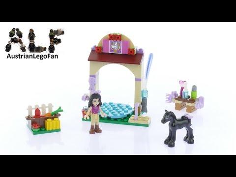 Vidéo LEGO Friends 41123 : Le toilettage du poulain
