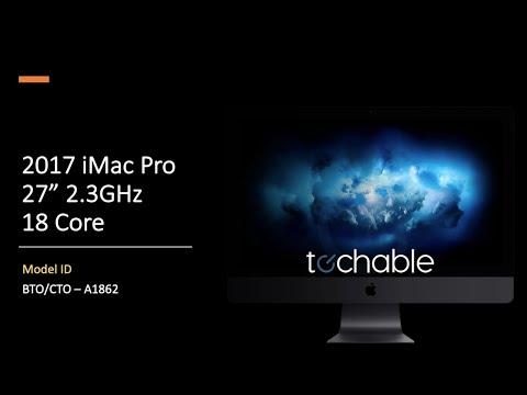 """2.3GHz iMac Pro 27"""" 5k 256GB RAM 1TB SSD"""