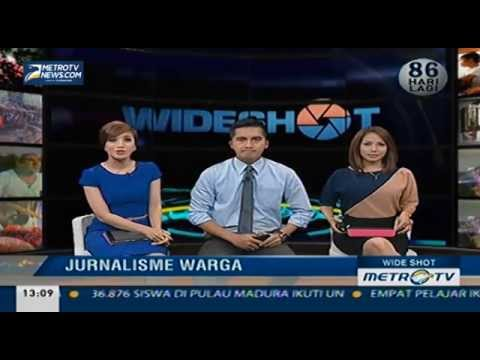 KM Manggelewa di Wide Shot Metro TV