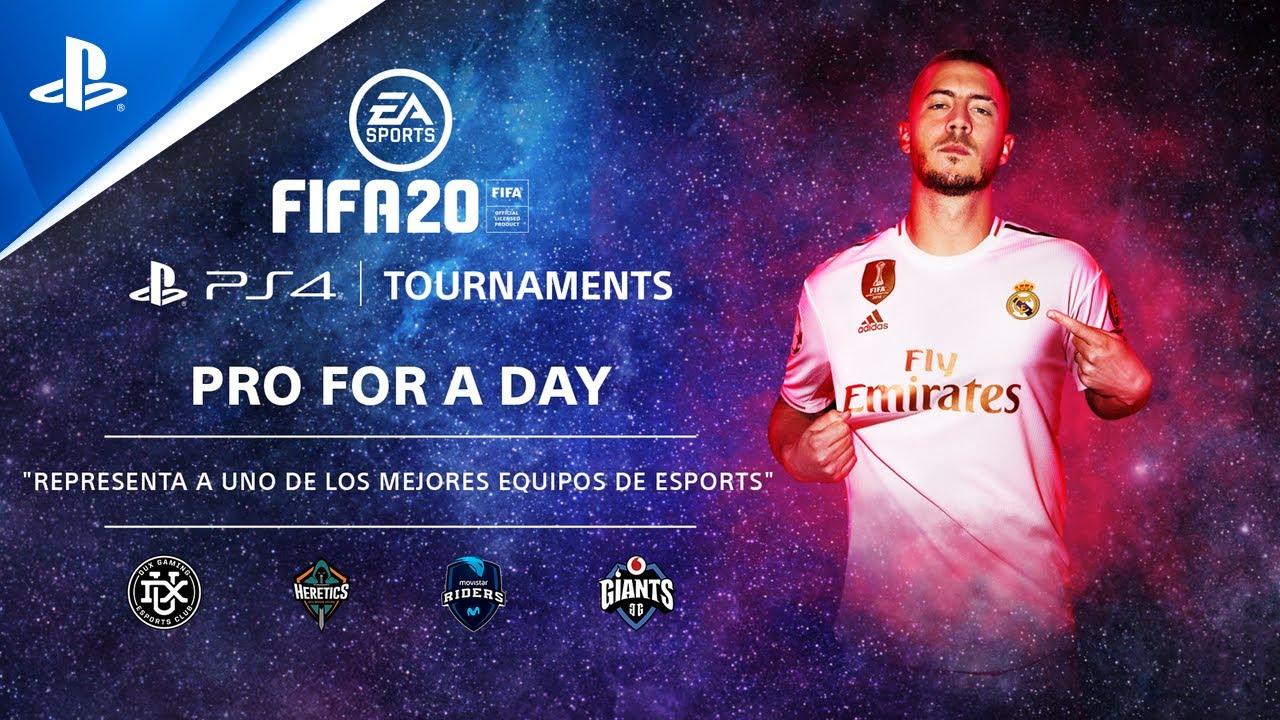 FIFA 20 PS4 Tournaments: Pro for a Day arranca el 3 de agosto