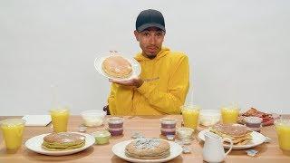 'OMKalen': Kalen Hosts a Pancake Mukbang