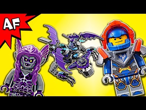 Vidéo LEGO Nexo Knights 70353 : L'héli-gargouille
