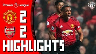 Highlights | Manchester United 2-2 Arsenal | Martial & Lingard On Target For Mourinho's Men