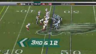 Donovan McNabb wk 15 highlights