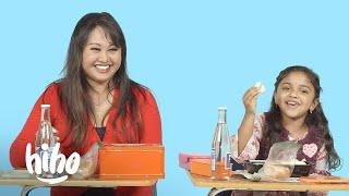 Kids Try Their Teacher's School Lunch | HiHo Kids