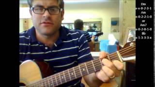 "How to play ""All I Want"" by Toad The Wet Sproket on acoustic guitar"