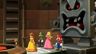 Mario Party 9 - Toad Road (Luigi Gameplay/Hard Difficulty)