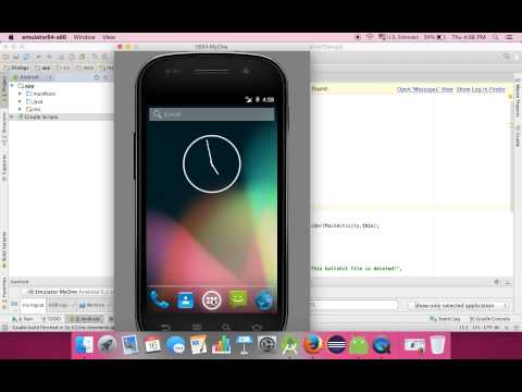 how to change version of android in android studio