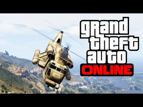 GTA V - How To Break Into Fort Zancudo Military Base In GTA Online (Best Way) Mp3