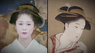 Recreating Ukiyo-e Hairstyles