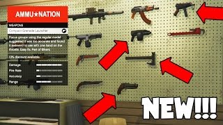 GTA 5 DLC UPDATE ALL NEW WEAPONS GAMEPLAY - MINI GRENADE LAUNCHER, PIPE BOMB & MORE! (GTA 5 ONLINE)