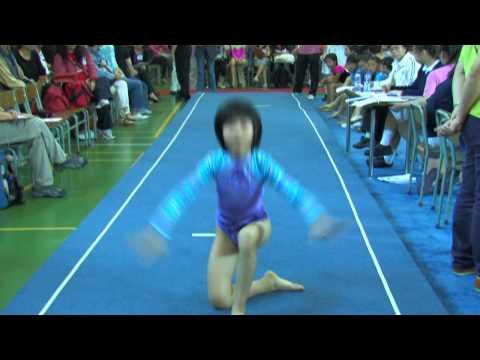 全港小學體操邀請賽 女子自由體操 22