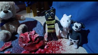 "VIDEO: CHILD'S PLAY: Claymation – ""Toy Massacre"" Lee Hardcastle"