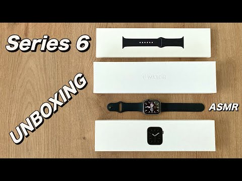 2020 Apple Watch Series 6 UNBOXING: Space Grey 44mm Aluminium